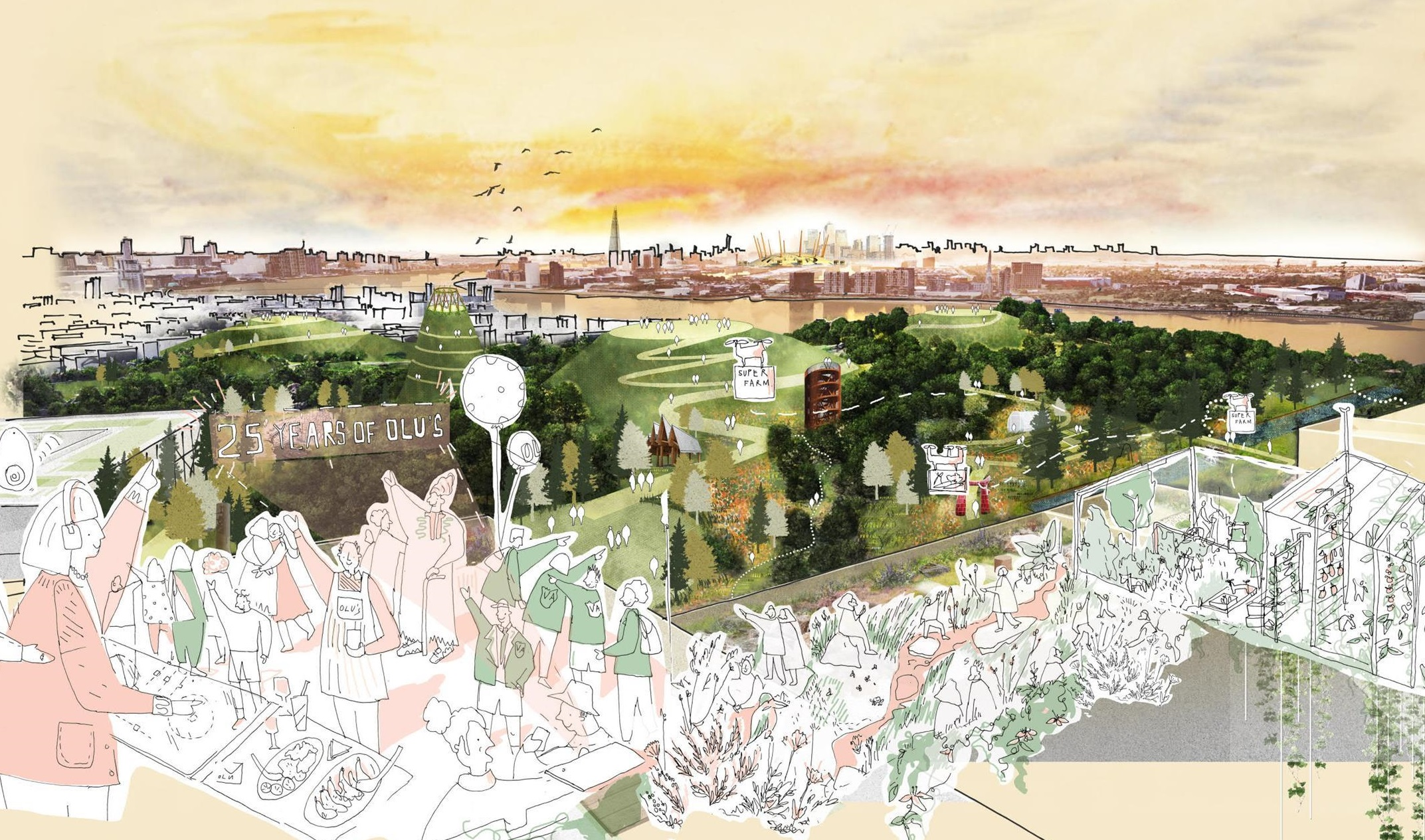 TEAM APPOINTED TO MASTERPLAN £8BN THAMESMEAD DEVELOPMENT