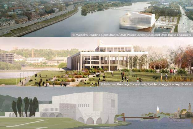 Finalists revealed in Kaunas concert centre competition