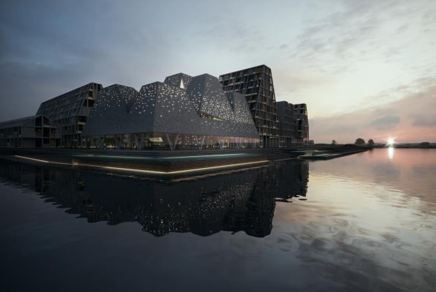Inspiring design selected for Copenhagen's Water Culture House