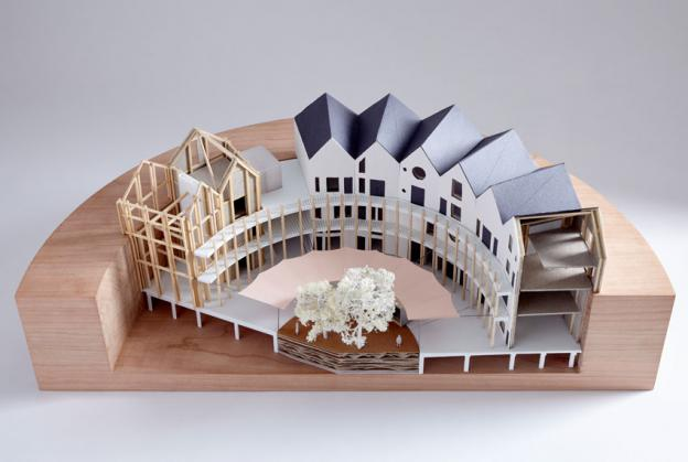 Outpost win RIBA Gasholder Base Competition