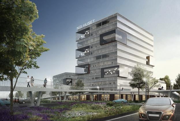 Schmidt Hammer Lassen reveal research campus concept