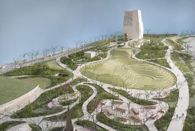 Revised designs revealed for Obama Presidential Centre