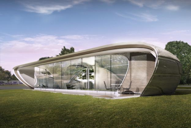 World's first freeform 3-D printed house enters test phase