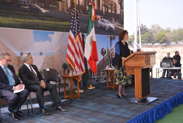 Ambassadors and barriers: progress on US Mexican Embassy and border wall
