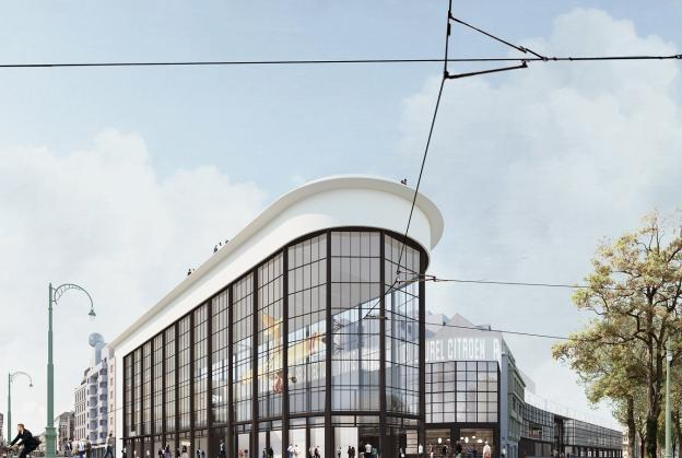 Art deco car factory to be transformed into cultural hub