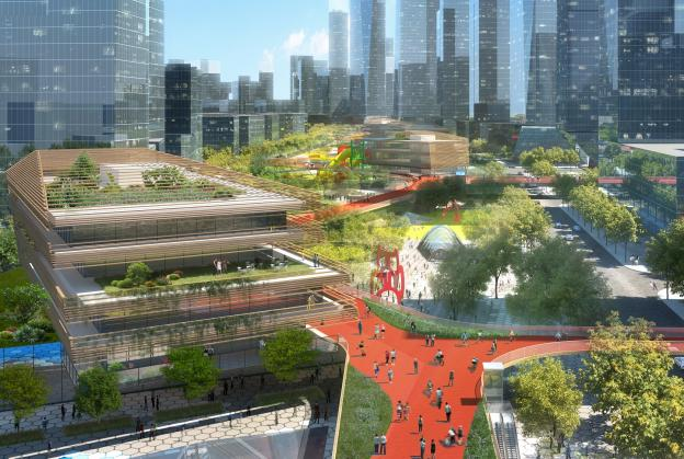 New mile-long skydeck for Shenzhen