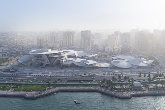 New pictures reveal Qatar museum nearing completion