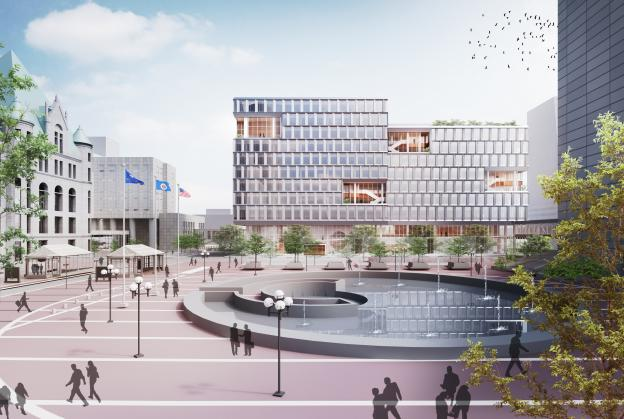Designs released for Minneapolis public services building