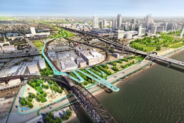 New greenway set to transform St Louis