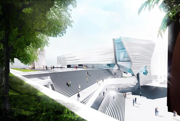 Designs unveiled for Orange County Museum of Art