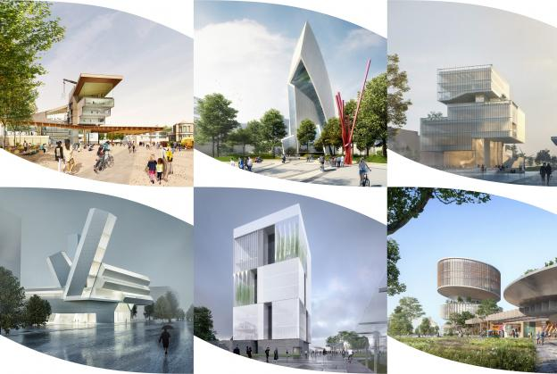 Shortlisted designs revealed for University College Dublin campus