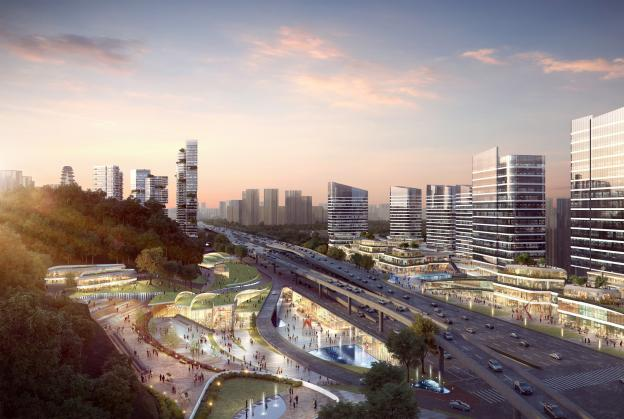 New transit hub planned for Nanjing