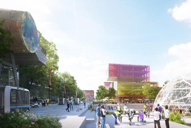 UNStudio reveal vision for Hilversum Media Park