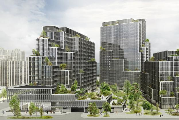 Henning Larsen create urban oasis for Shanghai