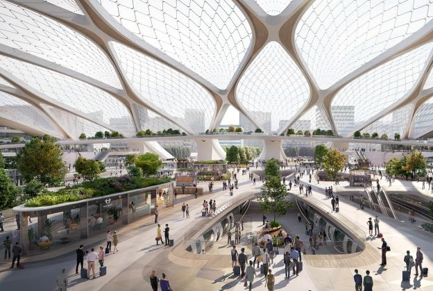 Station of the Future unveiled for European Hyperloop
