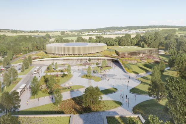 New solar-powered velodrome for Luxembourg