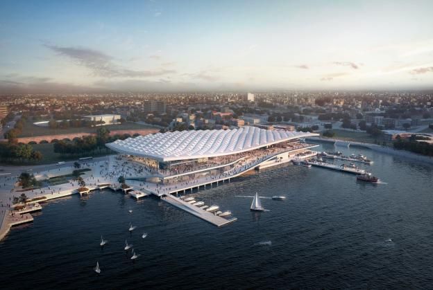 Concept unveiled for new Sydney icon