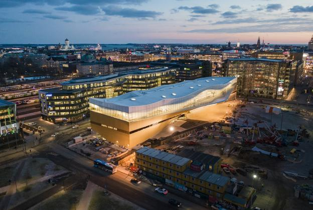 New Helsinki central library opens