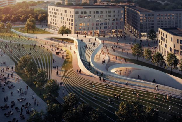 Fornebu metro line competition winners announced