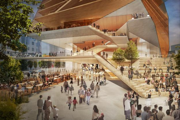 Concept unveiled for £288m London concert hall