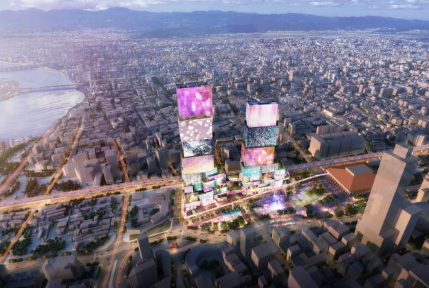Towers to establish a 'Times Square for Taipei'