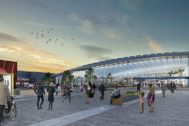 Work ramps up on west London super-hub