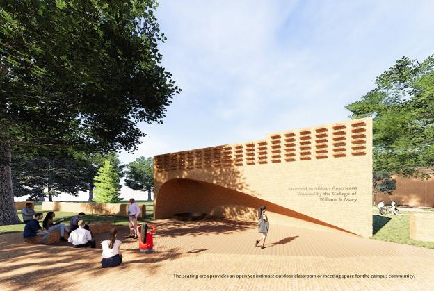 William & Mary University select design to shed light on a troubled past
