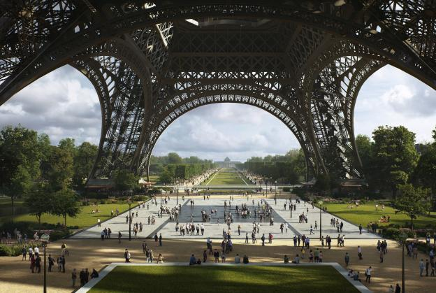 London studio wins career-defining Eiffel Tower competition