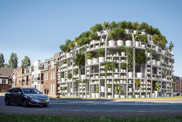 MVRDV and Van Boven create plant-covered villa