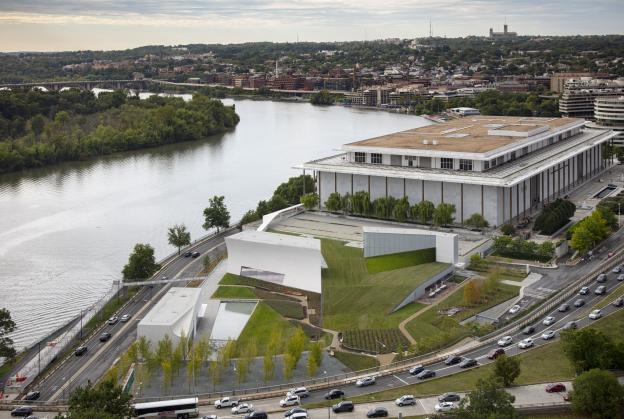 Kennedy Center expansion opens in Washington