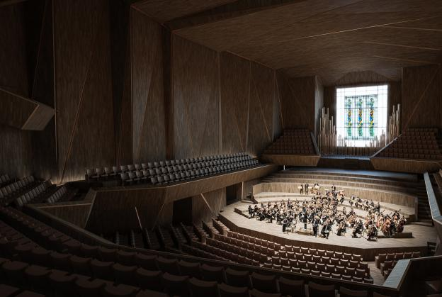 Winners announced for Lithuanian National Concert Hall