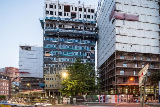 Mecanoo unite old and new for Manchester redevelopment