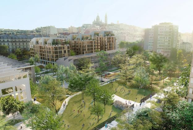 'Mechanical Garden' to transform former Paris railway site
