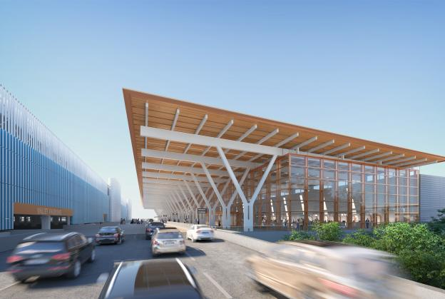 New images released for $1.5bn Kansas airport terminal