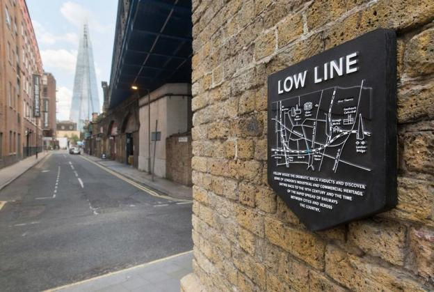 Designs revealed for London's low line