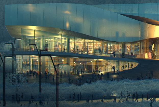 Renderings released for world's first Winter Olympic museum