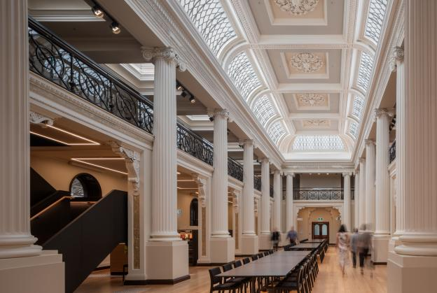 Redeveloped State Library Victoria reopens