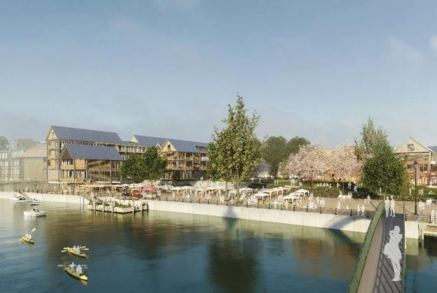 Hopkins Architects win RIBA contest for Twickenham Riverside