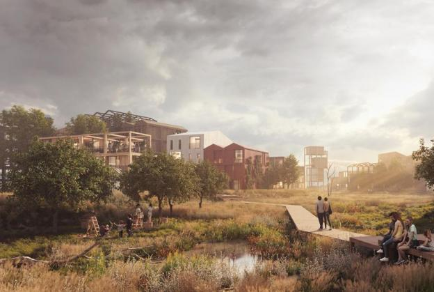 Timber neighbourhood planned for Copenhagen