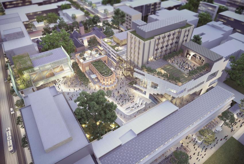 Tenderstream winning news article design team for University of melbourne landscape architecture