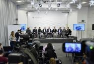 BYHMC press conference at Ukraine Crisis Media Center